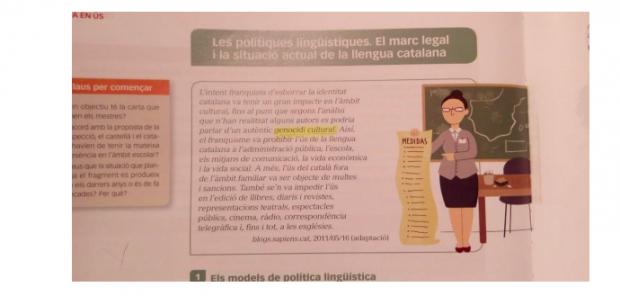El adoctrinamiento en las aulas alcanza al fútbol: «El Real Madrid fue bendecido por Franco»