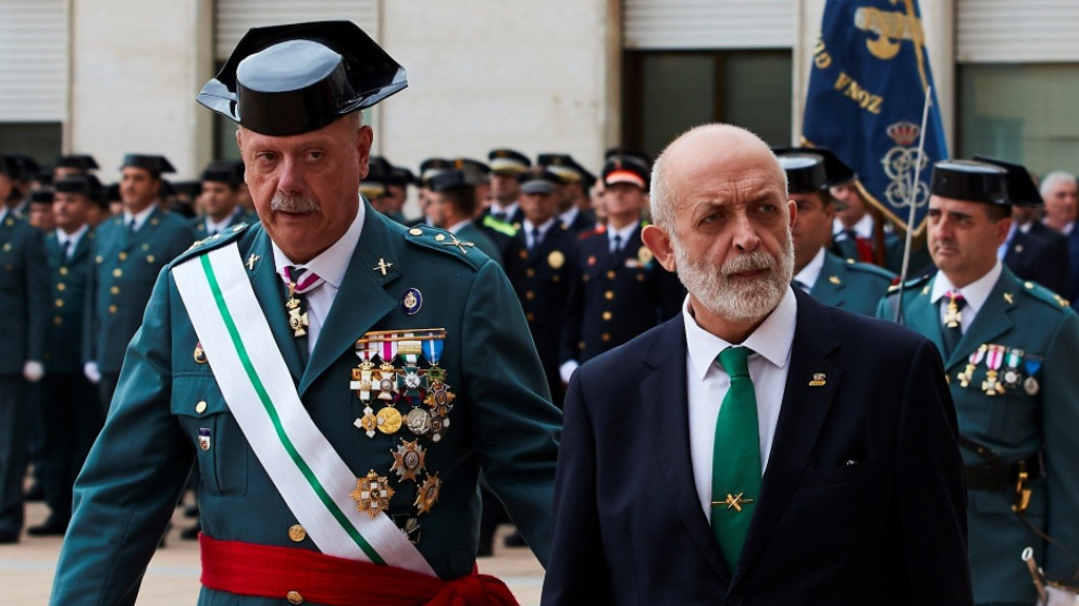 Felix Azón, ex director de la Guardia Civil.