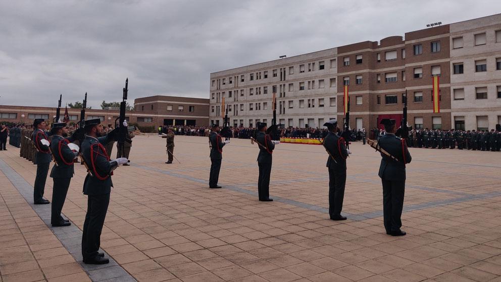 Acto de celebración de la Patrona de la Guardia Civil en Catalunya en la comandancia de Sant Andreu de la Barca (Barcelona). Foto: EP
