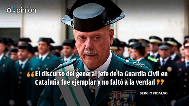 Orgulloso de la Guardia Civil, muy harto de los Mossos