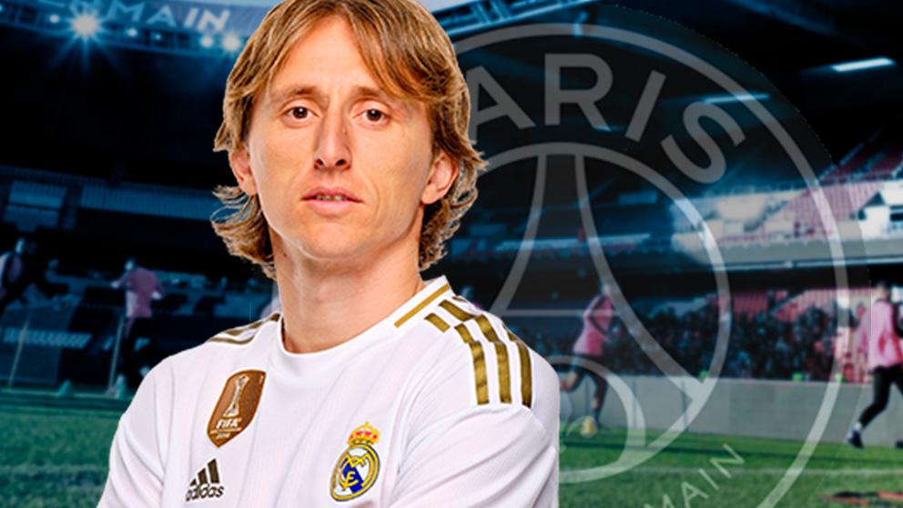 El Real Madrid dijo «no» tres veces al PSG por Modric.
