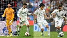 Courtois, Brahim, Kubo y Hazard firmaron por el Madrid cuando apenas les quedaban meses de contrato.