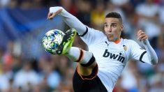 Rodrigo Moreno con el Valencia (AFP)