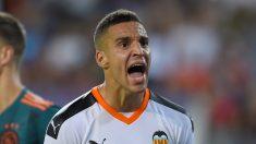 Rodrigo Moreno, delantero del Valencia (AFP)