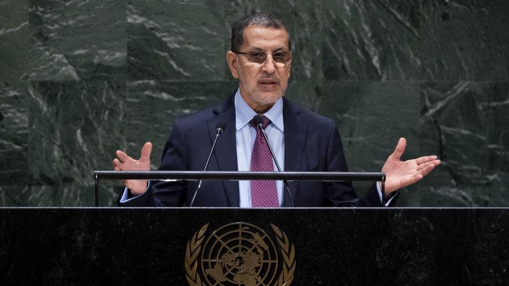 Saadeddine El Othmani, primer ministro de Marruecos. (Afp)