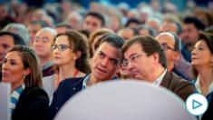 Pedro Sánchez y Guillermo Fernández-Vara.