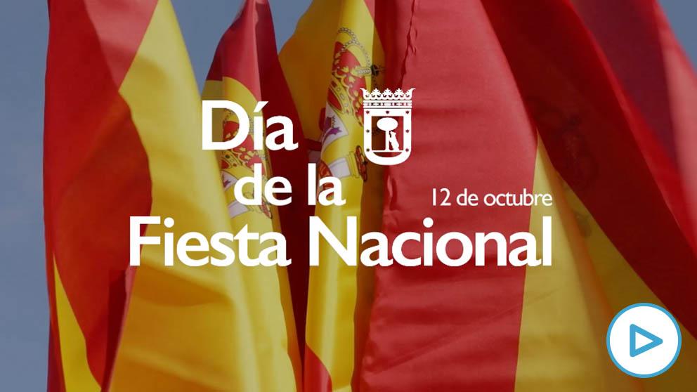 Mensaje institucional del alcalde José Luis Martínez Almeida con motivo de la Fiesta Nacional.