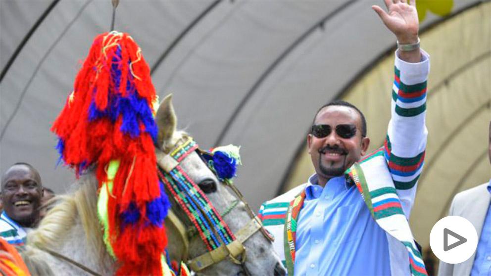 El primer ministro de Etiopía, Abiy Ahmed, premio Nobel de la Paz.