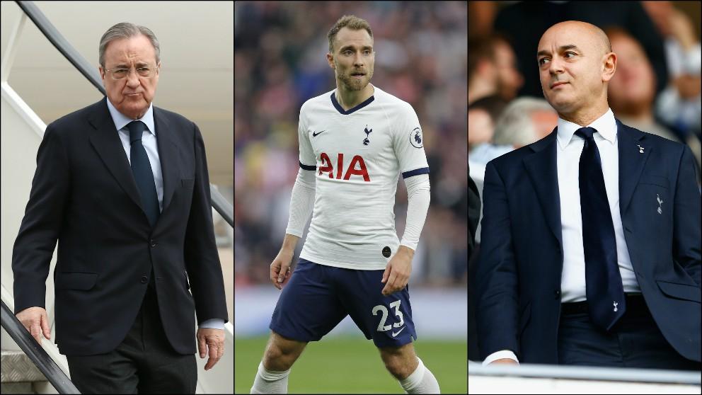 Florentino Pérez debe negociar de nuevo con Daniel Levy.