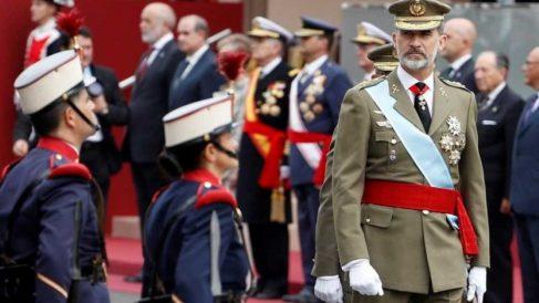 Programa de los actos militares del 12 de octubre en Madrid