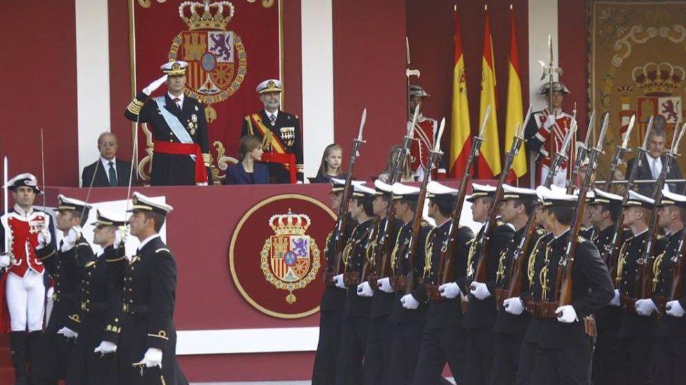 Recorrido y horario del desfile de las Fuerzas Armadas del 12 de Octubre 2019