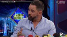 Santiago Abascal en El Hormiguero