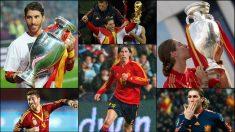 Los mejores momentos de Sergio Ramos con la Selección española.