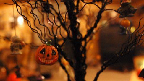 Guía de pasos e ideas para decorar un árbol de Halloween