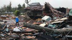 Consecuencias del tifón Hagibis en Japón.