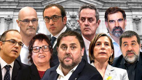 Los golpistas condenados por malversación y sedición