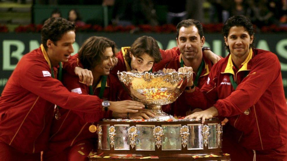 España ha ganado la Copa Davis en cinco ocasiones