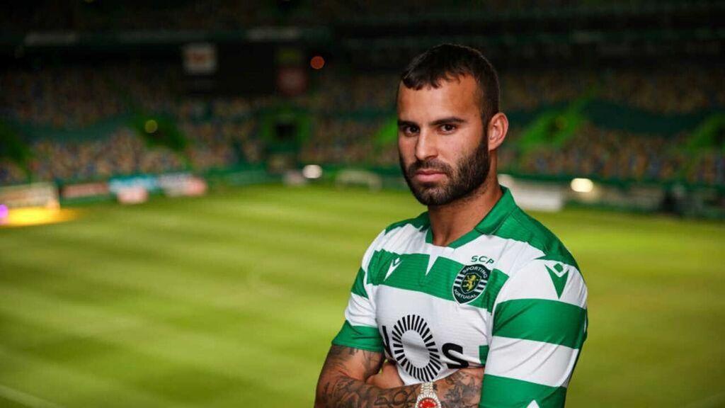Jesé, con la camiseta del Sporting de Portugal.