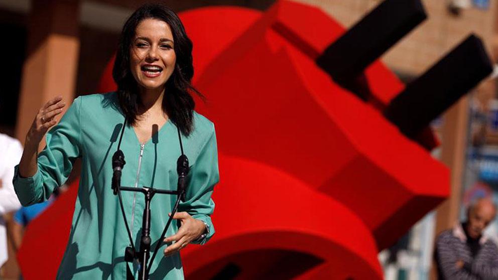 La portavoz de Ciudadanos en el Congreso de los Diputados, Inés Arrimadas (Foto: EFE).
