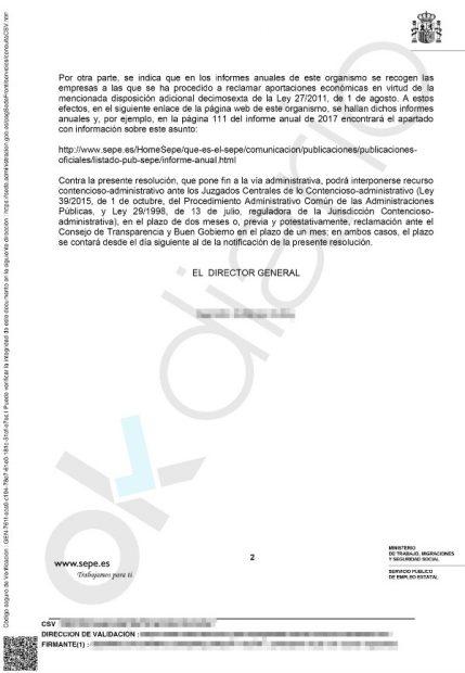 El Tesoro Público no ha reclamado al Santander las aportaciones millonarias que marca la ley por sus ERE