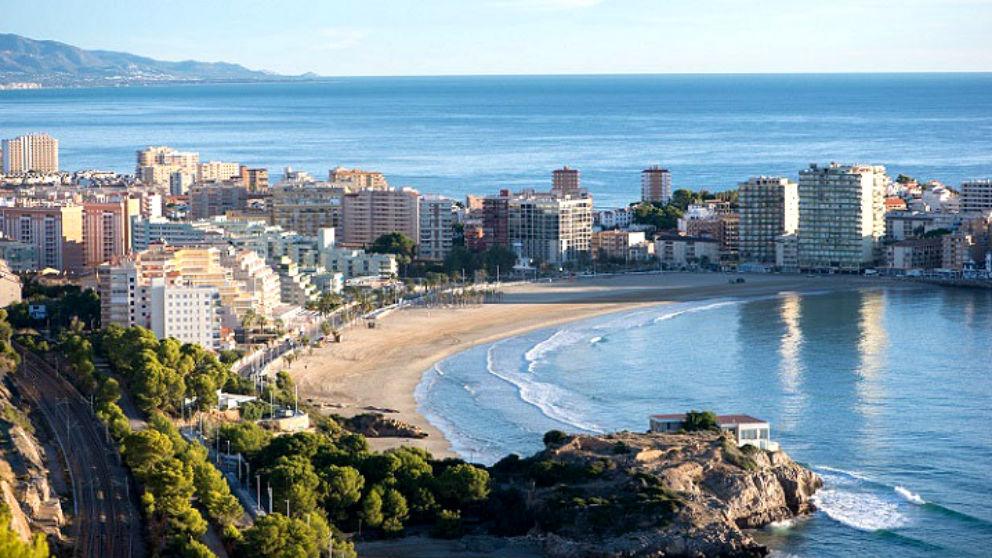 Una de las playas más conocidas del municipio de Oropesa del Mar (Castellón).