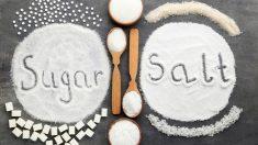¿Es peor el abuso del azúcar o la sal?