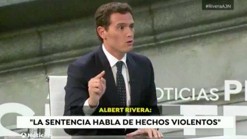 Albert Rivera en Antena 3.