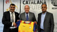 Joan Soteras, presidente de la Federación Catalana de Fútbol.