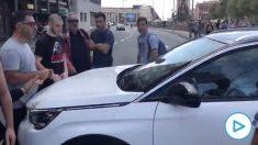 Momentos de tensión justo antes de conocerse la sentencia en Barcelona.