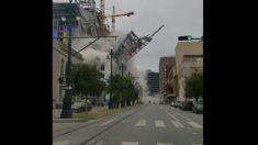 Facebook: El Hard Rock Café de Nueva Orleans se derrumba en directo