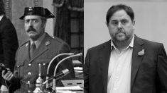 Antonio Tejero y Oriol Junqueras, protagonistas de los dos últimos golpes de Estado en España