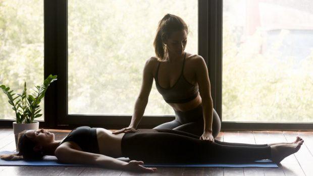 Ventajas del yoga en pareja