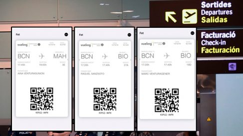 Billetes de avión repartidos por 'Tsunami'