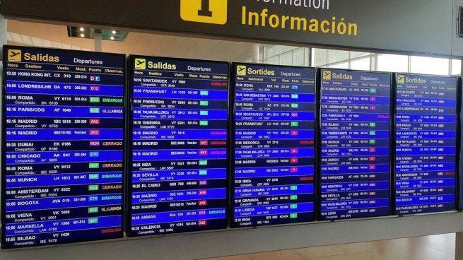 Vuelos cancelados en El Prat