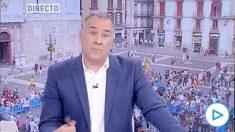 Xavier Fortes, en 'Los Desayunos' de TVE.