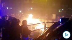 OKDIARIO cuenta en directo la violenta protesta en Barcelona
