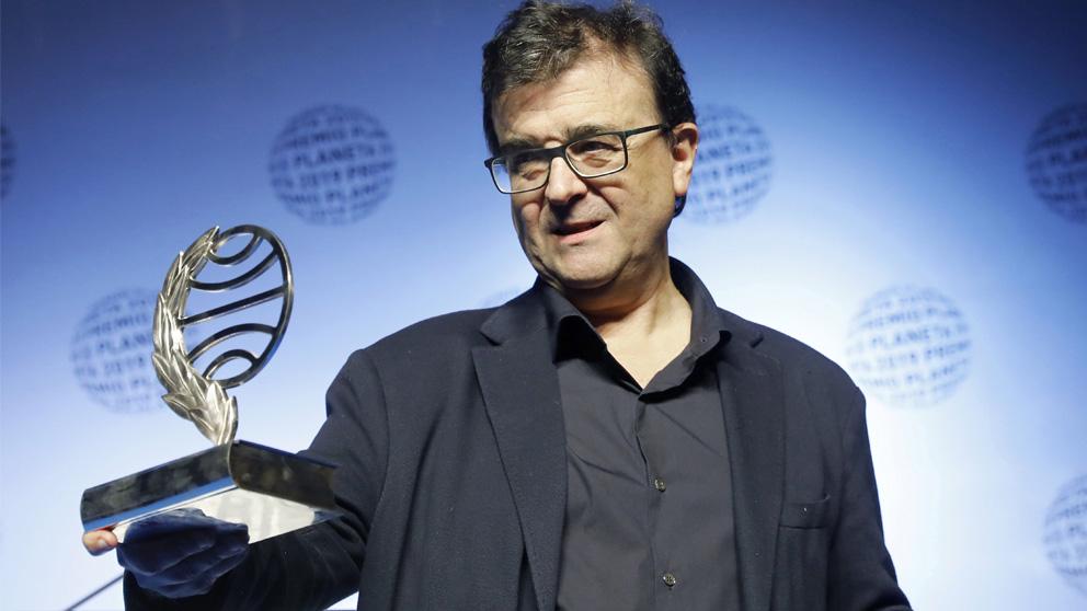 Javier Cercas, ganador del Premio Planeta 2019 (Foto: EFE)