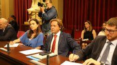 El portavoz de Vox en Baleares, Jorge Campos. Ep