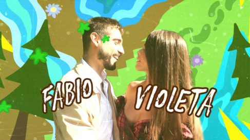 Fabio y Violeta de viaje en 'Crazy Camp'