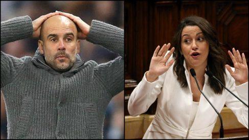 Inés Arrimadas arremete contra Guardiola.