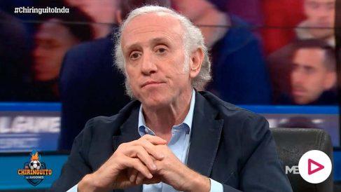Eduardo Inda, en su intervención en 'El Chiringuito'.