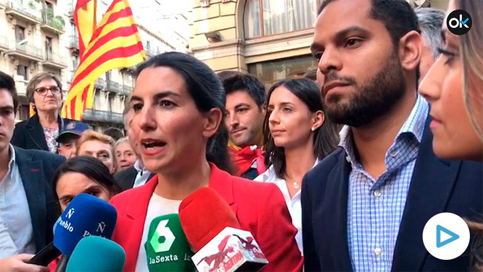 Rocio Monasterio y Ignacio Garriga en Barcelona
