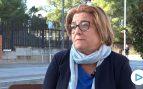 La mujer agredida por un separatista: «Perdí el conocimiento pero seguiré luciendo la bandera»