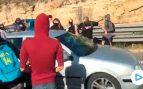 Un conductor se salta el corte de los CDR en la A-7 en Tarragona