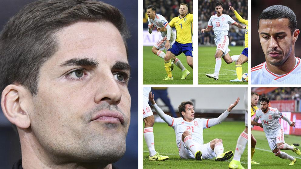 España-logró-el-pase-a-la-Eurocopa-tras-empatar-con-Suecia-pero-algunos-quedaron-señalados-(AFP)