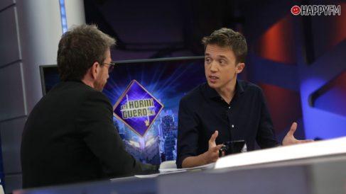 Iñigo Errejón en 'El Hormiguero'