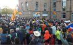Cinco «marchas por la libertad» recorren desde hoy 100 kilómetros hasta Barcelona