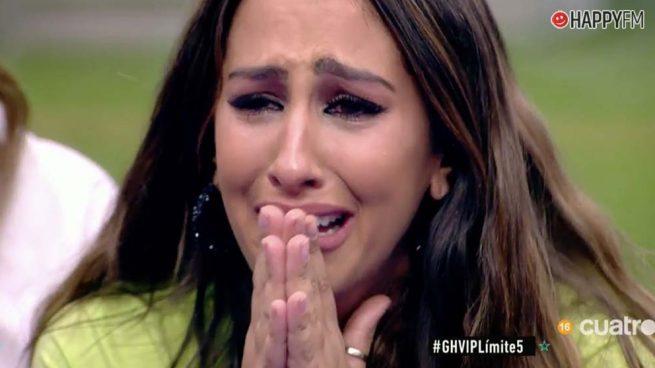 """'GH VIP 7': Noemí Salazar, rota de dolor al ser nombrada como """"mueble oficial"""""""