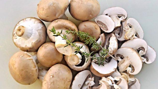 Receta de setas rellenas de anchoas y queso
