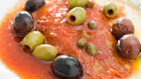 Receta de Rodaballo al tomate